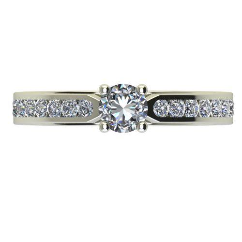 Годежен Пръстен бяло злато с диамант Decor 0,38 ct. 2430 a
