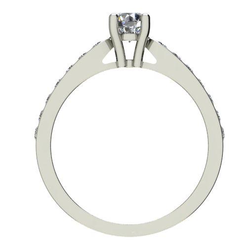 Годежен Пръстен бяло злато с диамант Decor 0,38 ct. 2430 b