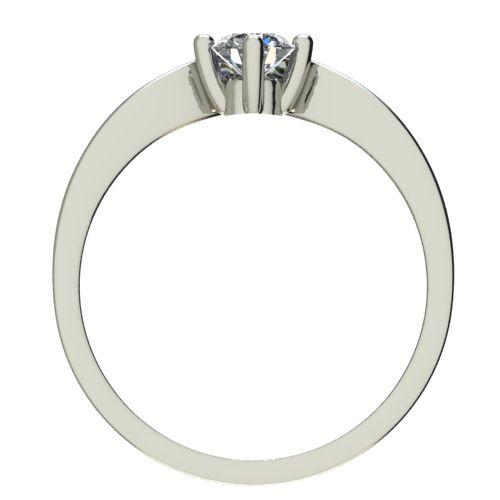 Годежен Пръстен бяло злато с диамант Eyes 0,17 ct. 2421 b