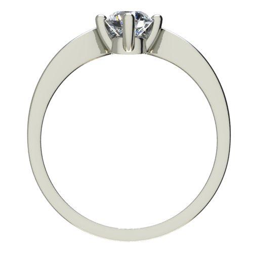 Годежен Пръстен бяло злато с диамант Eyes 0,25 ct. 2422 b