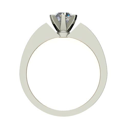 Годежен Пръстен бяло злато с диамант Nets 0,25 ct. 2435 b
