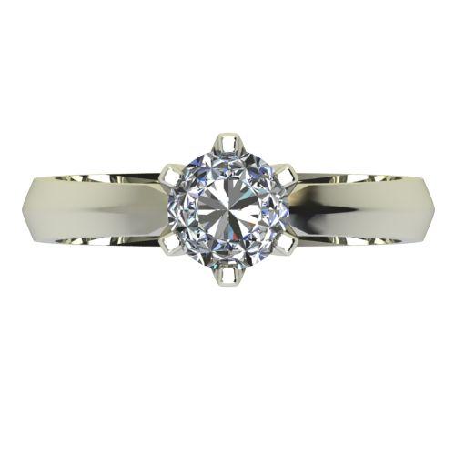 Годежен Пръстен бяло злато с диамант Nova 0,25 ct. 2432 a