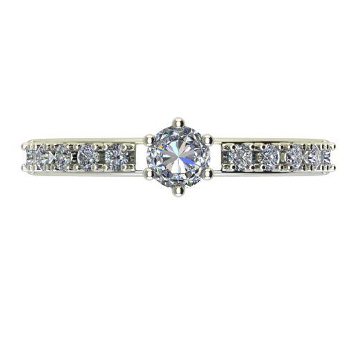 Годежен Пръстен бяло злато с диамант Nova 0,32 ct. 2459 a