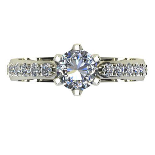 Годежен Пръстен бяло злато с диамант Nova 0,40 ct. 2431 a