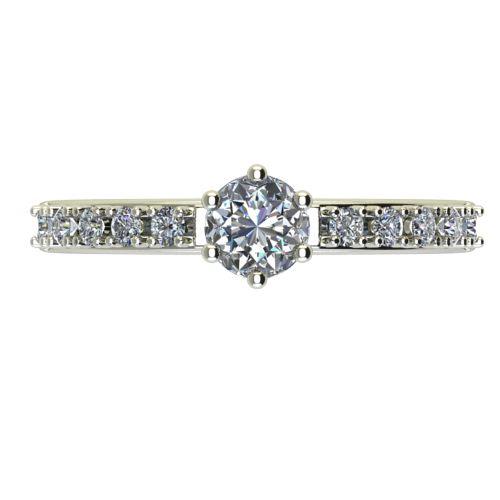 Годежен Пръстен бяло злато с диамант Nova 0,40 ct. 2460 a