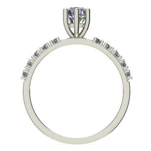 Годежен Пръстен бяло злато с диамант Nova 0,40 ct. 2460 b