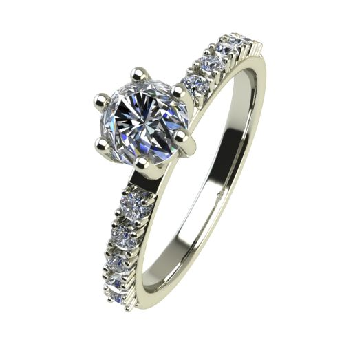Годежен Пръстен бяло злато с диамант Nova 0,40 ct. 2460