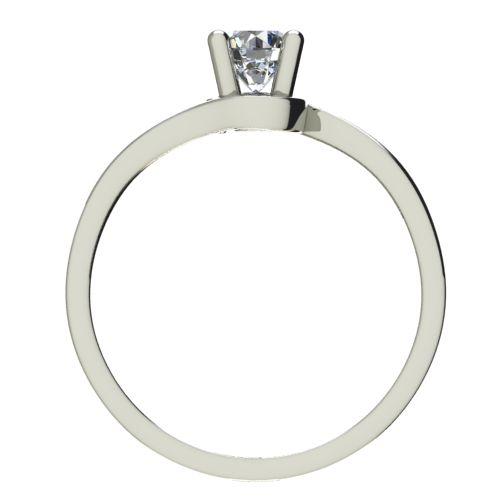 Годежен Пръстен бяло злато с диамант Unity 0,25 ct. 2452 b