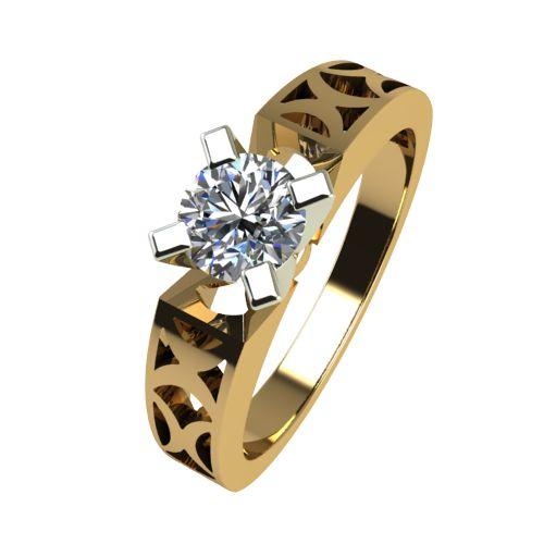 Годежен Пръстен от злато с диамант Nets 0,25 ct. 2436