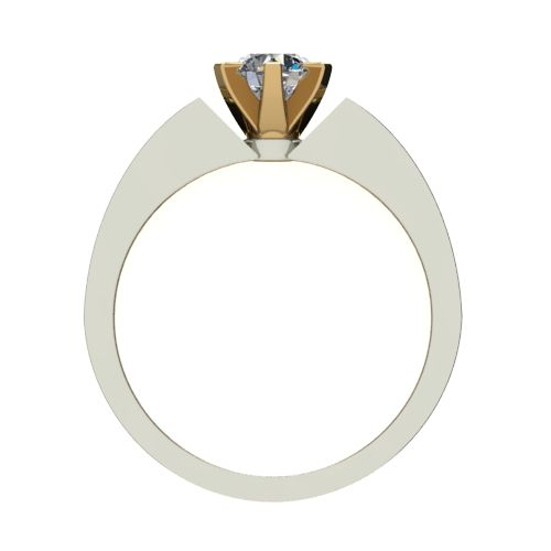 Годежен Пръстен от злато с диамант Nets 0,25 ct. 2437 b