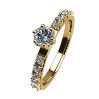 Годежен Пръстен жълто злато с диамант Nova 0,27 ct. 2463