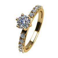 Годежен Пръстен жълто злато с диамант Nova 0,32 ct. 2464