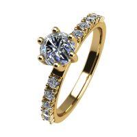 Годежен Пръстен жълто злато с диамант Nova 0,40 ct. 2465