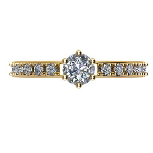 Годежен Пръстен жълто злато с диамант Nova 0,40 ct. 2465 a