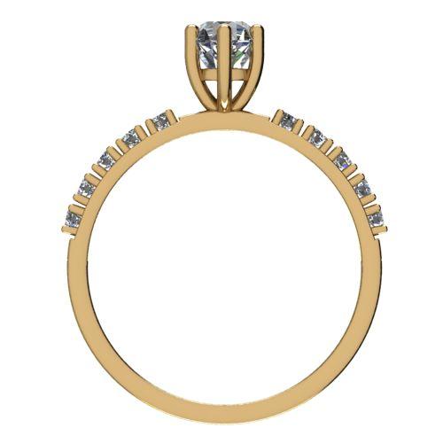 Годежен Пръстен жълто злато с диамант Nova 0,40 ct. 2465 b