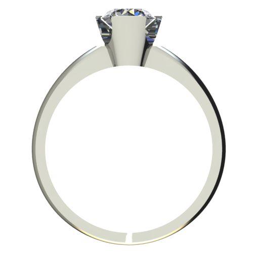 Годежен Пръстен бяло злато с диамант Flores 0,25 ct. 2480 b