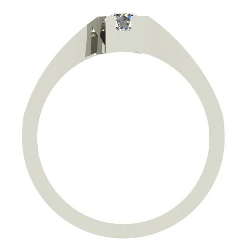 Годежен Пръстен бяло злато с диамант Chase 0,07 ct. 2498 b