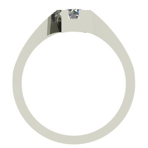 Годежен Пръстен бяло злато с диамант Chase 0,17 ct. 2500 b