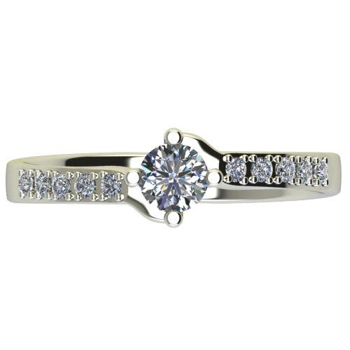 Годежен Пръстен бяло злато с диамант Chase 0,40 ct. 2491 a