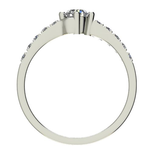 Годежен Пръстен бяло злато с диамант Chase 0,40 ct. 2491 b