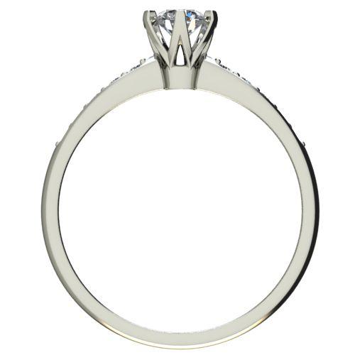 Годежен Пръстен бяло злато с диамант Nova 0,32 ct. 2482 b