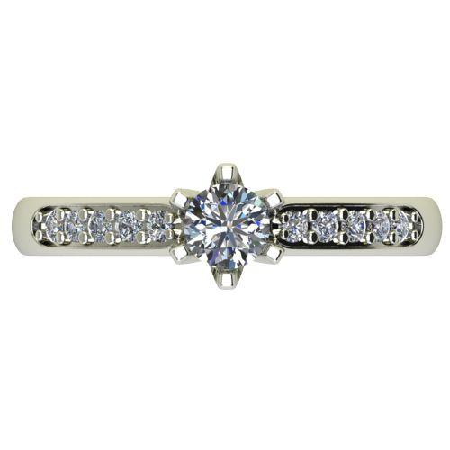 Годежен Пръстен бяло злато с диамант Nova 0,40 ct. 2483 a
