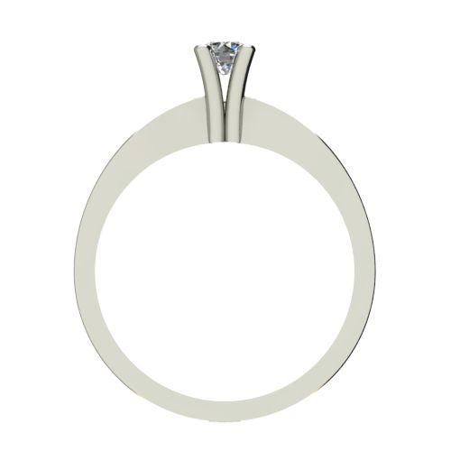 Годежен Пръстен бяло злато с диамант Cante 0,12 ct. 2507 b