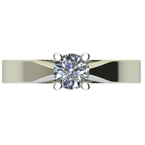 Годежен Пръстен бяло злато с диамант Cante 0,25 ct. 2509 a