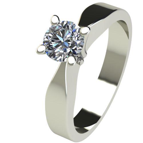 Годежен Пръстен бяло злато с диамант Cante 0,25 ct. 2509