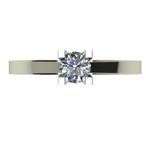 Годежен Пръстен бяло злато с диамант Piece 0,25 ct. 2506 a