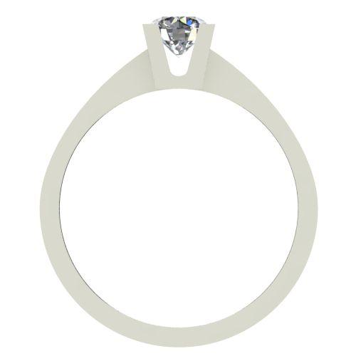 Годежен Пръстен бяло злато с диамант Piece 0,25 ct. 2506 b