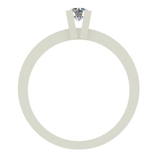 Годежен Пръстен бяло злато с диамант Cante 0,07 ct. 2511 b
