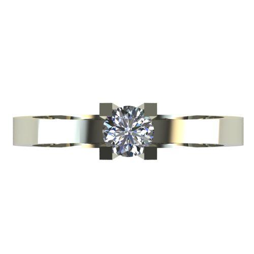 Годежен Пръстен бяло злато с диамант Cante 0,17 ct. 2513 a