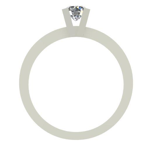 Годежен Пръстен бяло злато с диамант Cante 0,17 ct. 2513 b
