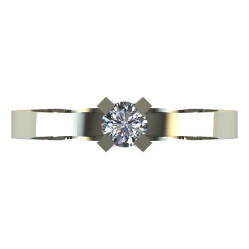 Годежен Пръстен бяло злато с диамант Cante 0,17 ct. 2518 a