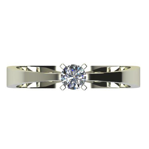 Годежен Пръстен бяло злато с диамант Cante 0,17 ct. 2533 a