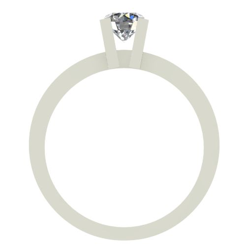 Годежен Пръстен бяло злато с диамант Cante 0,25 ct. 2514 b