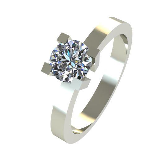 Годежен Пръстен бяло злато с диамант Cante 0,25 ct. 2514
