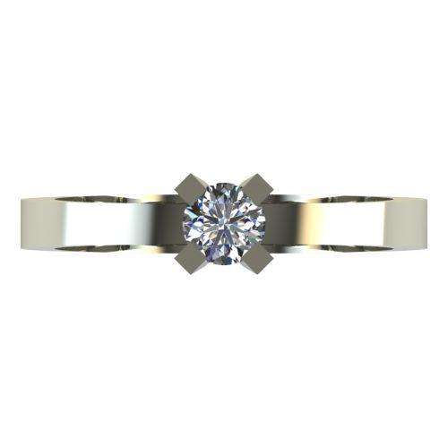 Годежен Пръстен бяло злато с диамант Cante 0,25 ct. 2519 a