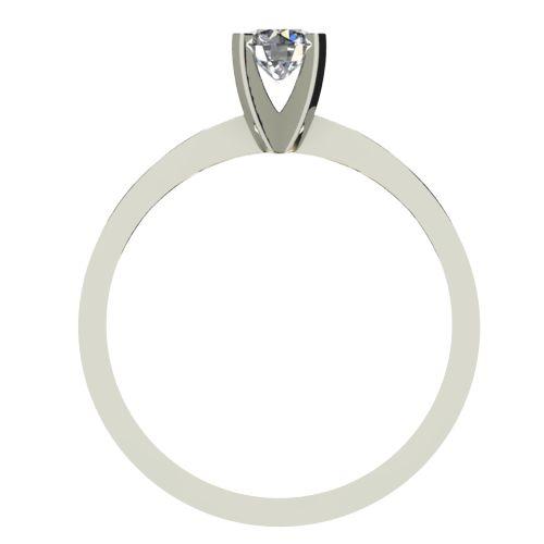 Годежен Пръстен бяло злато с диамант Cante 0,25 ct. 2534 b
