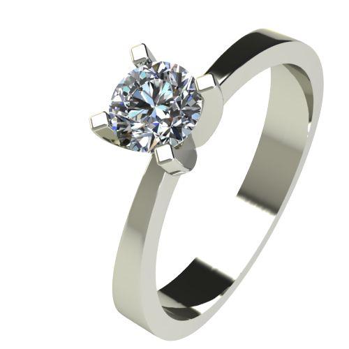 Годежен Пръстен бяло злато с диамант Cante 0,25 ct. 2534