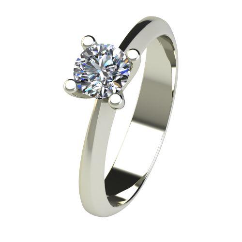 Годежен Пръстен бяло злато с диамант Cante 0,40 ct. 2537