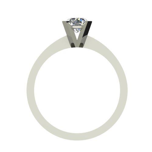 Годежен Пръстен бяло злато с диамант Cante 0,40 ct. 2538 b