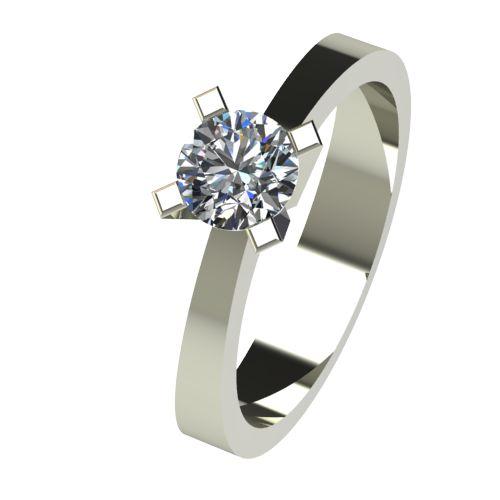 Годежен Пръстен бяло злато с диамант Cante 0,40 ct. 2538