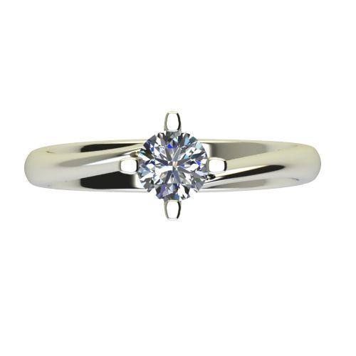 Годежен Пръстен бяло злато с диамант Chase 0,40 ct. 2535 a