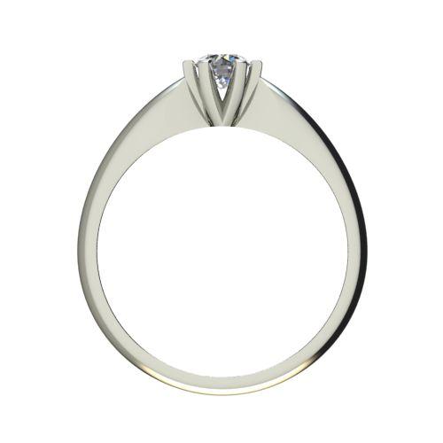 Годежен Пръстен бяло злато с диамант Piece 0,25 ct. 2524 b