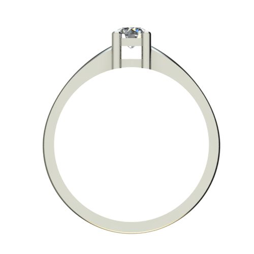 Годежен Пръстен бяло злато с диамант Fill 0,25 ct. 2574 b