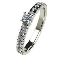 Годежен Пръстен бяло злато с диамант Nova 0,28 ct. 2546