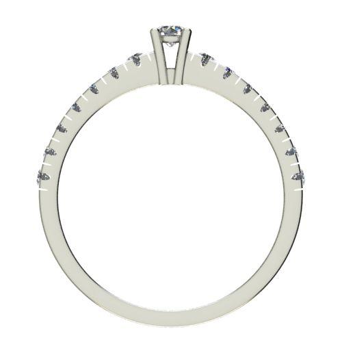 Годежен Пръстен бяло злато с диамант Nova 0,28 ct. 2546 b