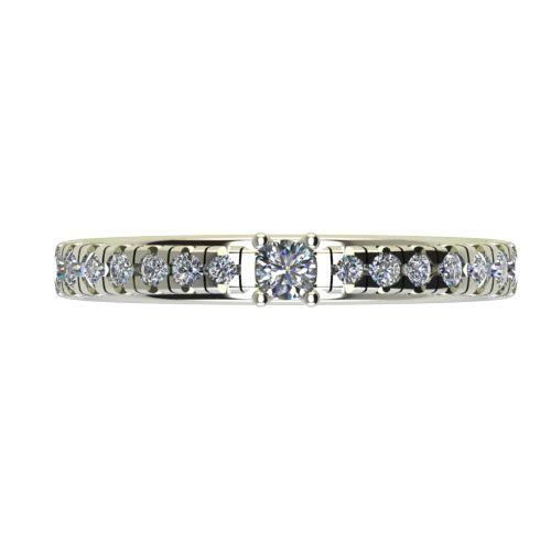 Годежен Пръстен бяло злато с диамант Nova 0,28 ct. 2547 a